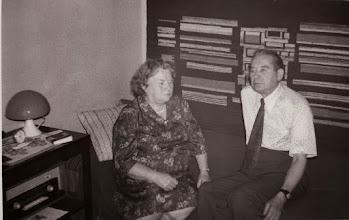 Photo: Stanisław Skowron z żoną.1979 rok.  Zdjęcie udostępnił ks. Paweł Skowron.