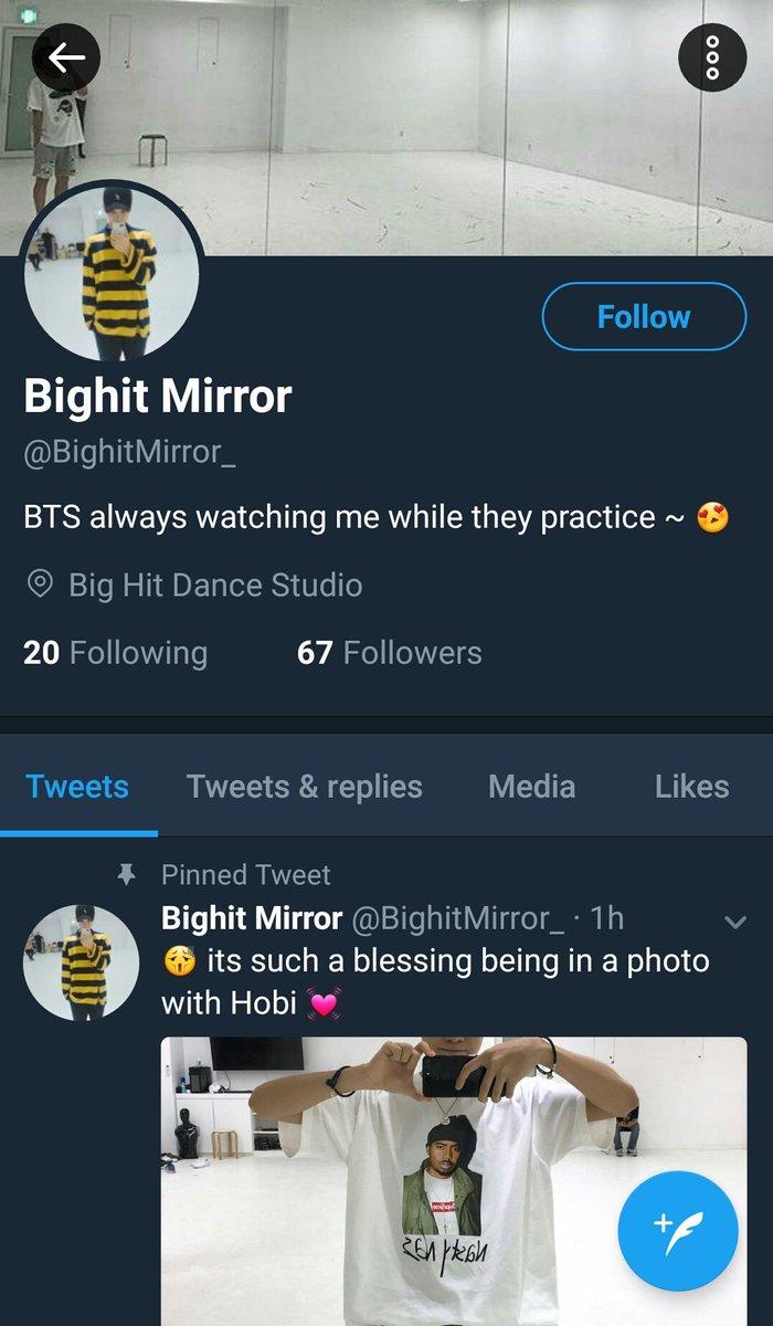 bighit mirror