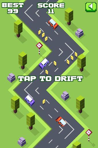 City Drift zigzag car racing
