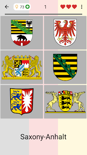 German States - Flags, Capitals and Map of Germany 2.1 screenshots 6