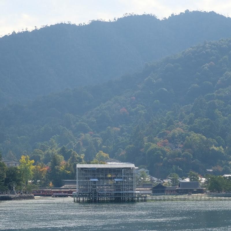 【広島】大鳥居工事中の宮島にあえて行ってみた。今しか見られない「あるもの」と対面