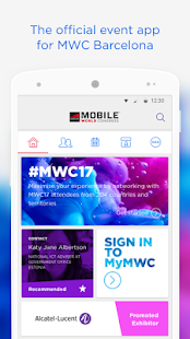 My MWC Event App Official GSMA- screenshot thumbnail