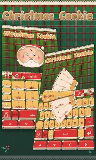 Christmas Cookie Keyboard