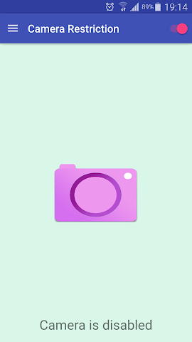 android Camera Restriction Pro Screenshot 1