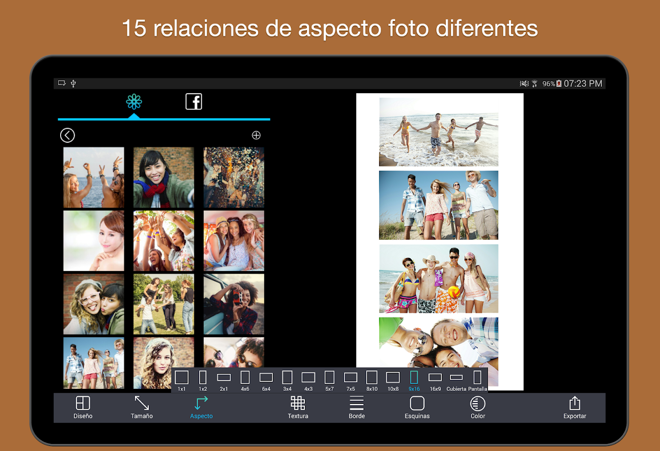 Pic Stitch: captura de pantalla