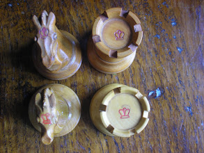 Photo: CH72; crown stamps - Ayres on the bottom, Jaques on top