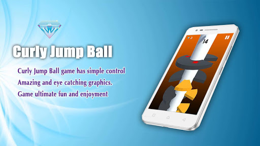 Curly Jump Ball - For Android 1.1 screenshots 1