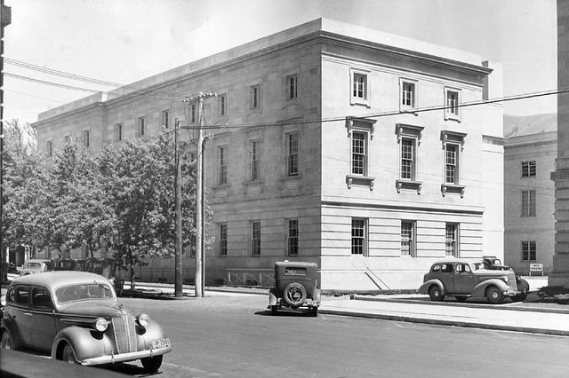 Missoula post office, 1938