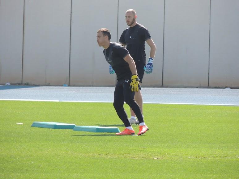 Fernando y Makaridze.