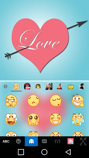 mod Pink Love Keyboard Theme  screenshots 3