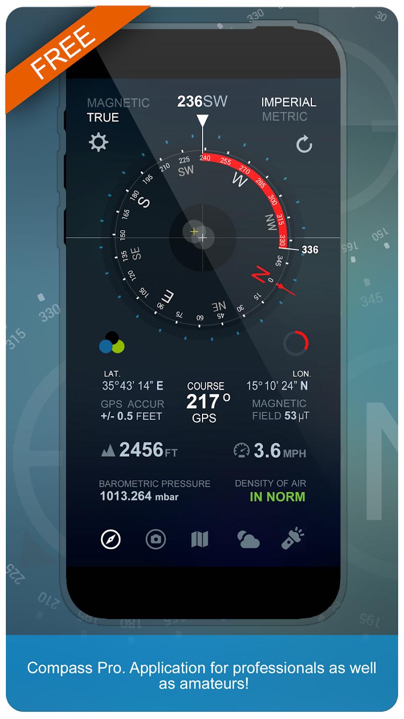 Compass Pro Screenshot 0