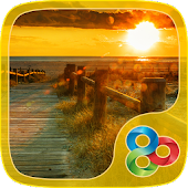 Sea Sunset GO Launcher Theme