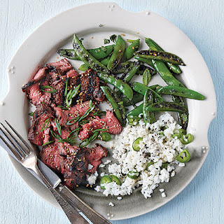 Sesame-Ginger Flap Steak