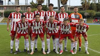 Un once del filial del Almería.