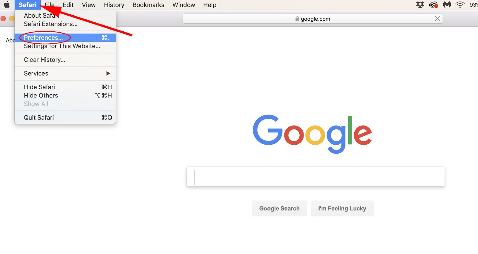 Go To Homepage >> The 1 Minute Guide To Making Google Your Homepage