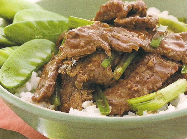 Mongolian Beef, Weight Watchers Recipe