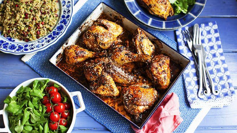 10 Best Pomegranate Molasses Chicken Recipes
