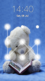 App Teddy Bear Pattern Lock Screen APK for Windows Phone
