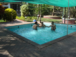 Photo: Drinks are not allowed in the Pool