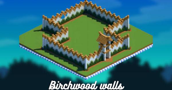 Birchwood walls