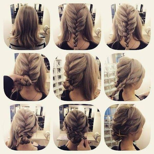 Hairstyles step by step 2018  screenshots 4