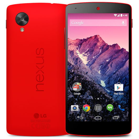 Nexus 5 (16GB, Bright Red)