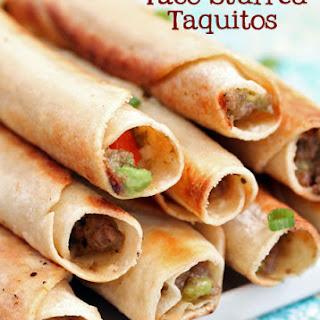 Taco-Stuffed Taquitos