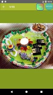 Pooja thali designs - náhled