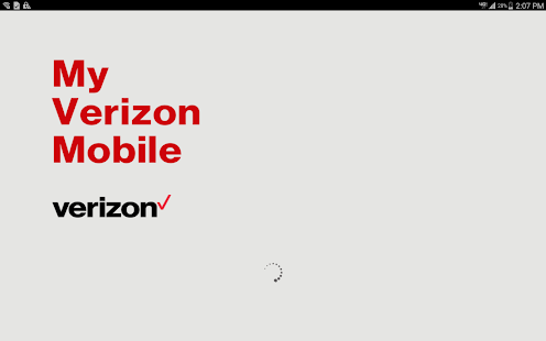 My Verizon Mobile for Tablets- screenshot thumbnail