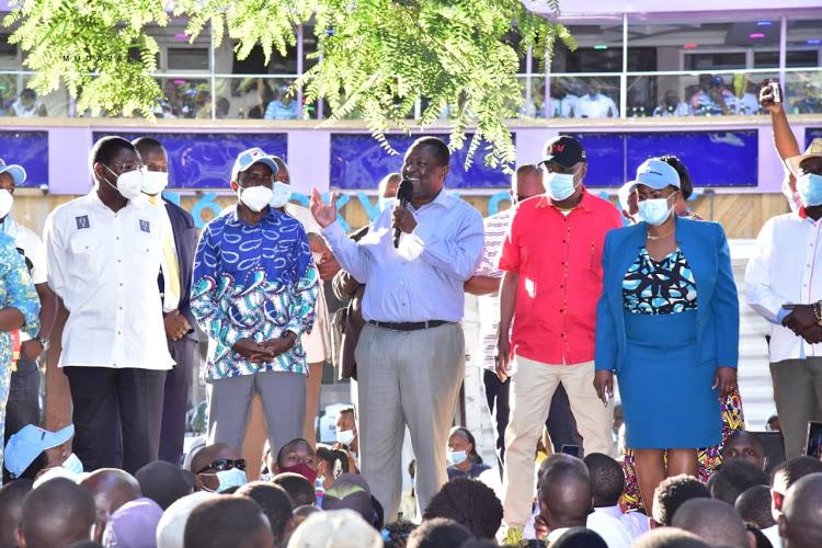 Kalonzo team jittery over Musalia-Gideon presidential ticket