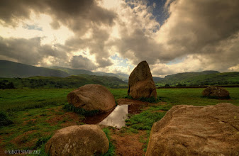 Photo: What Have You Witnessed?  These stones are part of Castlerigg Stone Circle in the Lake District, they say they were put in place some 3000 years BC, a total of 38 stones in the outer ring with another 10 inside, the tallest stone is some 2.3meters high.No cranes,mechanicalaides, nothing but manpower and here they stand still some 5000 years later in what is still a remote spot in the UK.  I have always stood in awe of places such as this, it holds you in reverence, more than anycathedralor church could ever do. This place meant something and has witnessed so much in that time.  http://www.visitcumbria.com/kes/castlerigg-stone-circle.htm  Last image for today, time to go and explore the streams :)