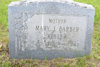 Photo: Headstone of Mary Jane (Fredenburg) Barber Smith Keller / Stiles Cemetery, Lapeer, Lapeer Co., Michigan