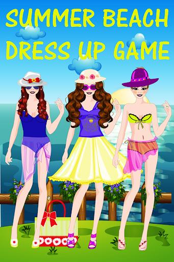 夏のビーチドレスアップゲーム