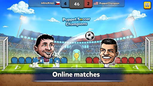 ⚽ Puppet Soccer Champions – Fighters League ❤️ for PC