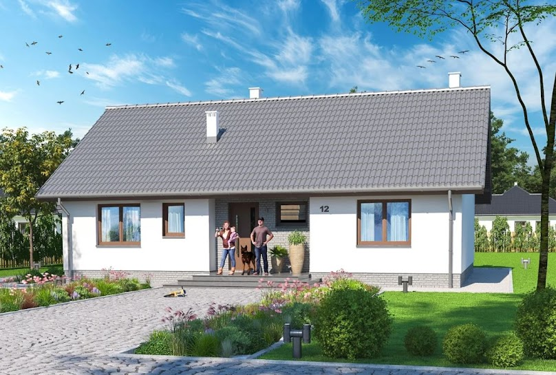 Projekt domu Tracja 4