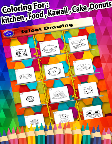 Indir Kitchen Coloring Pages Kids Coloring Book Apk Son Surumu