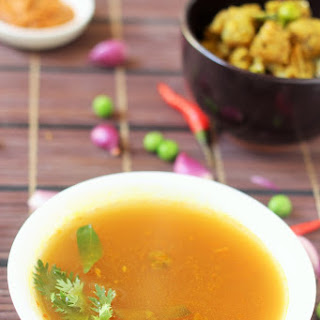 Instant Tomato Rasam without Tamarind