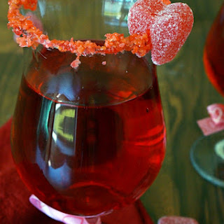 Red Hot Love Valentines Day Cocktail