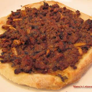 Lebanese Meat Pie Recipe - Sfeeha - Lahm bi Ajeen.