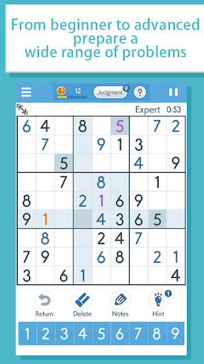 Sudokuu2010A logic puzzle game u2010 filehippodl screenshot 2
