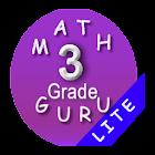 CCSS Third Grade math guru / 3rd grade math games icon