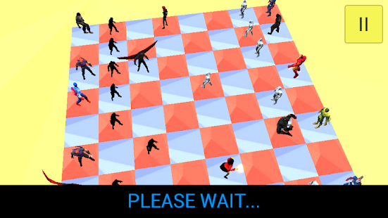 3d Super Hero Chess- screenshot thumbnail