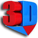 3D Video Player icon