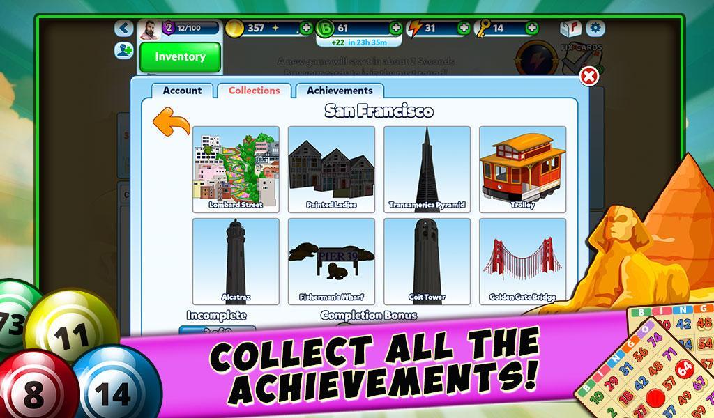 Screenshots of Bingo - Secret Cities for iPhone