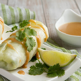 Low-Carb Keto Spring Rolls with Ginger Dipping Sauce