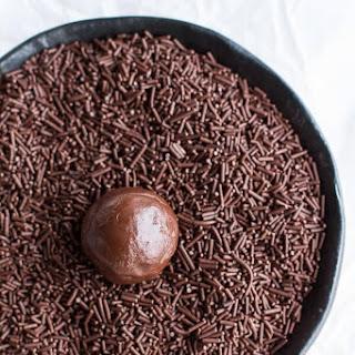 Brigadeiros (Brazilian Chocolate Truffles)..