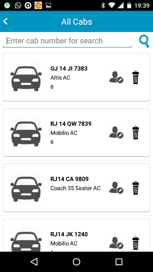 B2BTaxi- screenshot