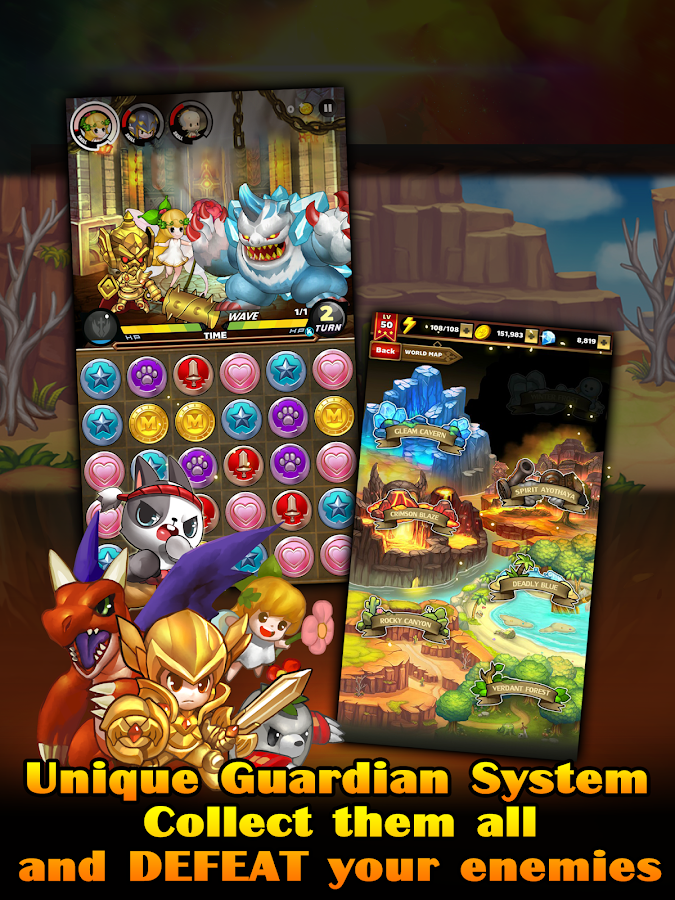 Puzzle Guardians- screenshot