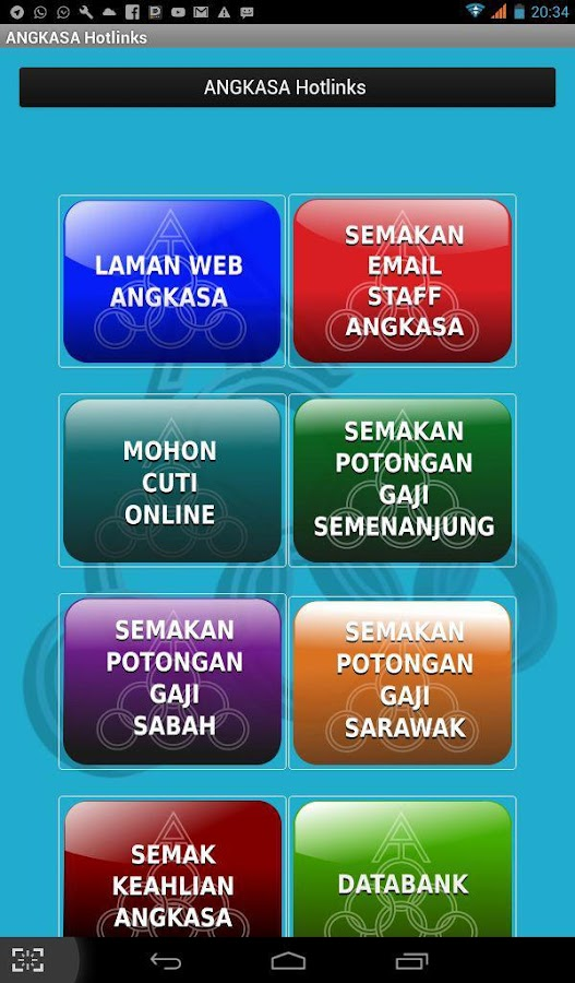 ANGKASA Hotlinkz- screenshot