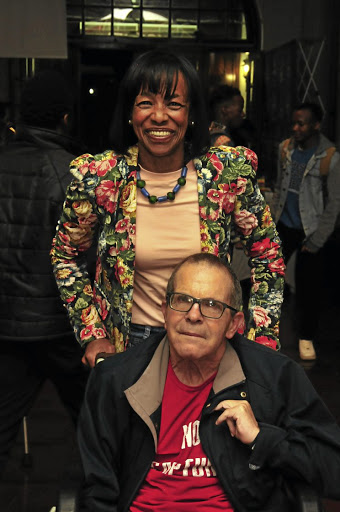 Graeme Bloch, who died this week, pictured with his wife, Cheryl Carolus. File photo.